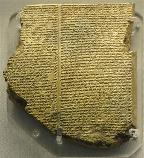 gilgamesh flood myth wikipedia los 10 libros m 225 s antiguos de la historia