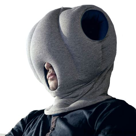 Ostich Pillow authentic magical ostrich pillow nap travel office