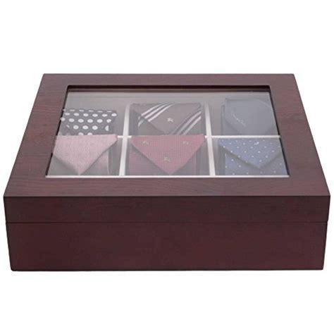 tech swiss tiebox tie box storage handcrafted 9