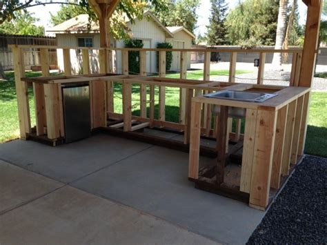 outdoor kitchen framing plans pictures to pin on pinterest pinsdaddy