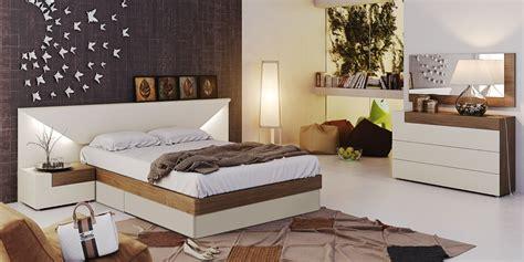 elena modern italian bedroom set  star modern furniture