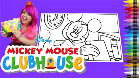 crayola giant coloring pages mickey mouse coloring disney mickey mouse clubhouse giant coloring book