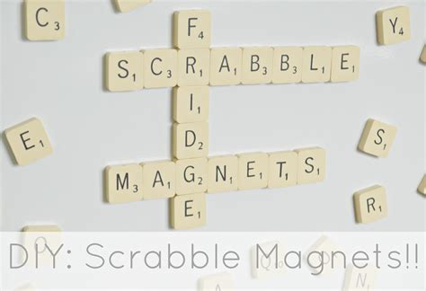 scrabble tile generator diy scrabble fridge magnets makery