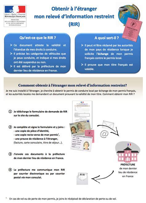 permis de conduire nouvelle proc 233 dure consulat g 233 n 233 ral