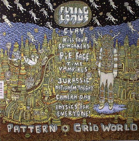 pattern grid world flying lotus flying lotus pattern grid world vinyl at juno records