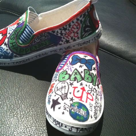 diy one direction shoes discover and save creative ideas