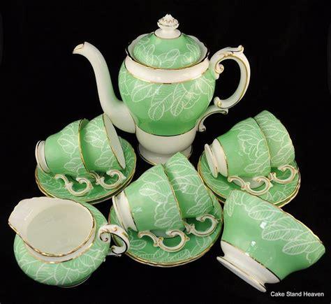 Green Tea Set cauldon china green tea set tea sets