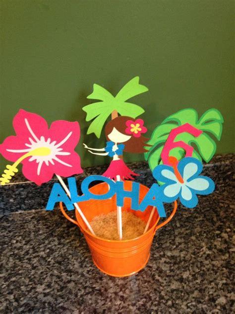 best 25 luau centerpieces ideas on hawaiian