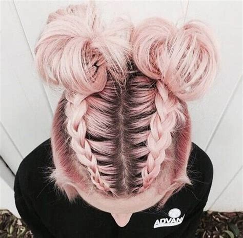how to do pinks up do hair trend watch mohawk braid into top knot half up