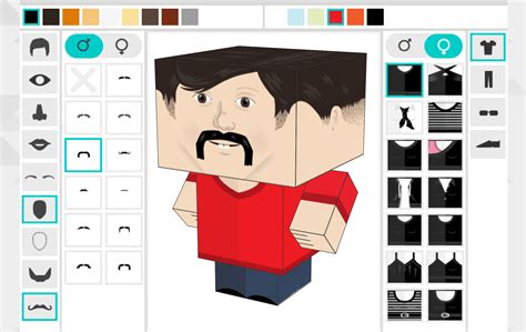 Paper Craft Photos - build your own paper craft gods with foldable me