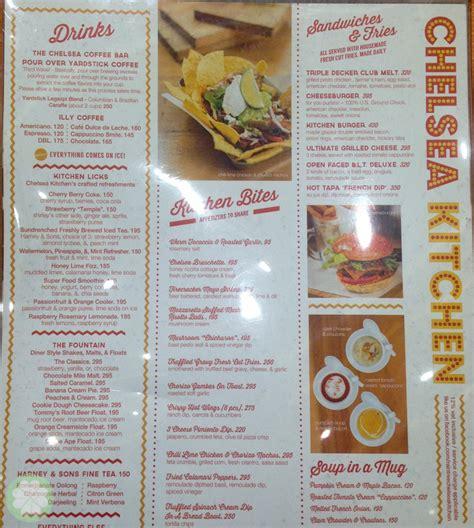 Chelsea Kitchen Menu chelsea kitchen at mega fashion