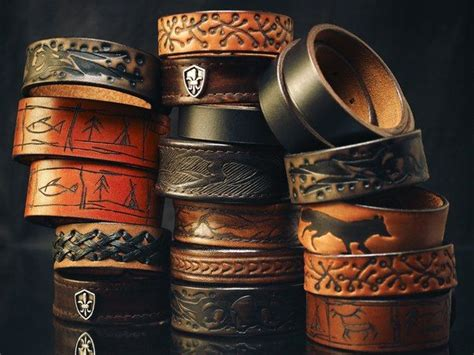 cuero weather bad weather workshop handmade leathercraft deri bileklik