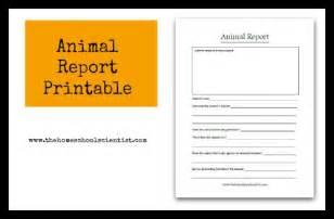 animal research for template animal report printable