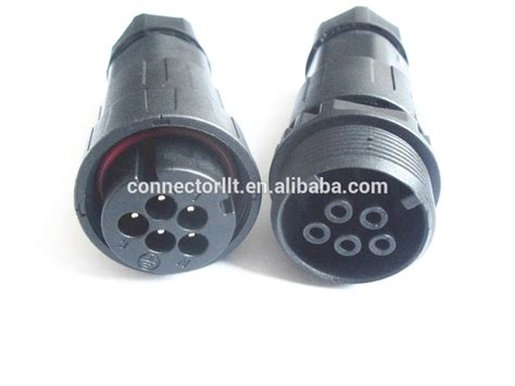 best electrical connectors best quality 5pole types connector waterproof