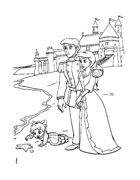 the little mermaid 2 return to the sea coloring pages az