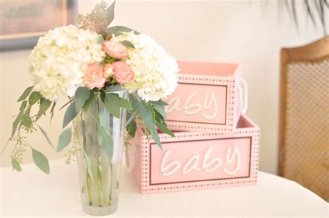 flower arrangements for girl baby shower baby shower florals lilygrass