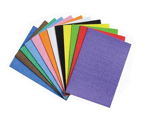Foam Paper Craft - craft foam sheets for arts and crafts kits foamtech