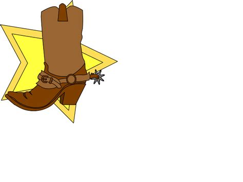 cartoon boat brown drawings of cowboy boots cliparts co