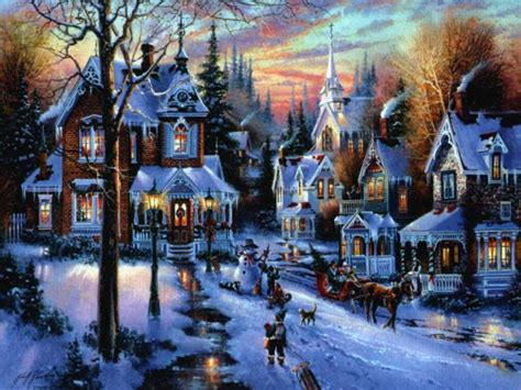 christmas village christmas village pictures