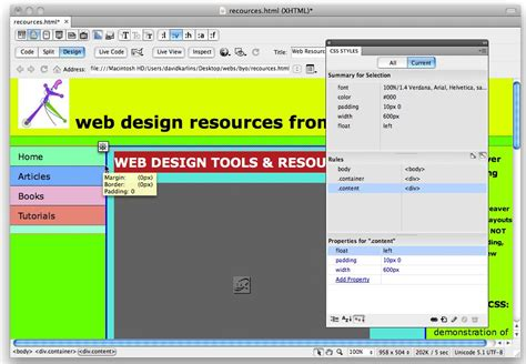 layout html dreamweaver finding css layouts with background colors gt designing css