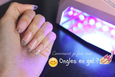 faire des ongles en gel ongles en gel etapes