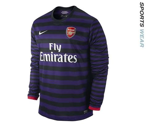 Jersey Arsenal Home Sleeves 2013 2014 nike arsenal sleeve away jerse end 8 14 2014 11 26 am