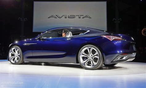 gmc sedan concept buick avista concept bows at 2016 detroit auto show