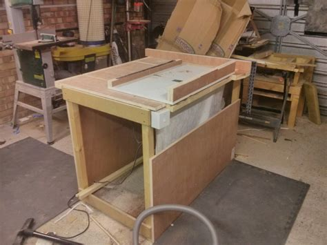 how to make a table saw bench diy table saw maker geek