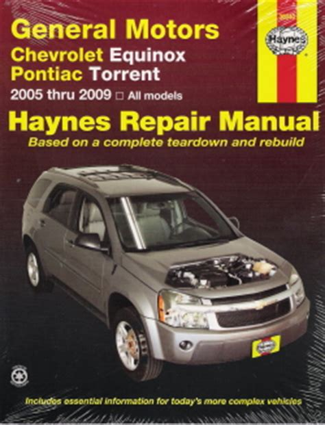 motor auto repair manual 2006 pontiac torrent auto manual 2005 chevrolet gmc truck van suv repair chilton haynes manuals cds