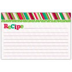 merry recipe cards paperstyle