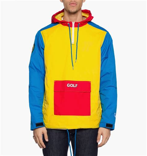 colorful nike windbreaker wtb gw tri color pullover windbreaker size s golfwang