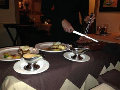 Cottage Place Restaurant by Tableside Service Of Chateaubriand For Two Picture Of Cottage Place Restaurant Flagstaff
