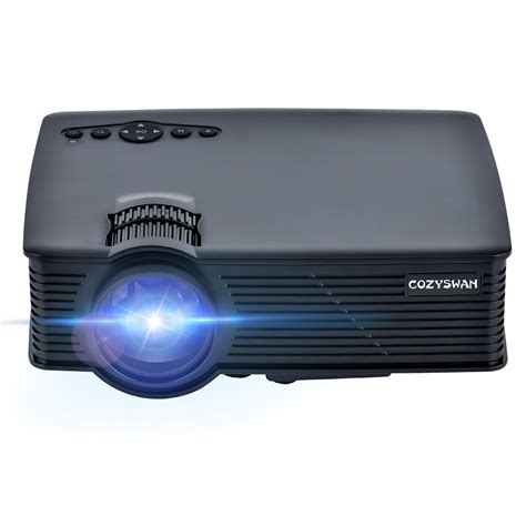 Lcd Proyektor Mini Benq projector cozyswan gp9 support 1080p hdmi 1500 luminous lcd mini projector for outdoor indoor