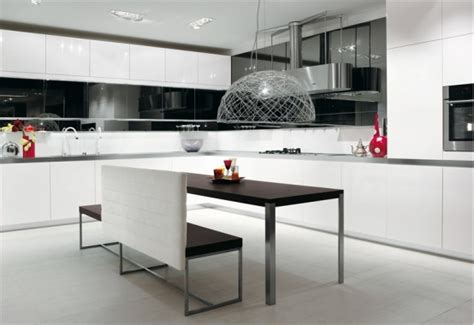 Kitchen Designs Black And White 30 Black And White Kitchen Design Ideas Digsdigs