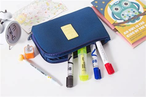 Travel Pouch Size L Tas Travel Besar Limited tas travel polyester mesh size s blue jakartanotebook