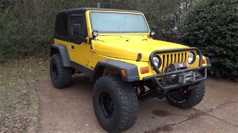 2000 Jeep Wrangler Yj Or Tj Lifted 2000 Jeep Wrangler Tj Sport Update