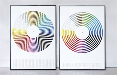 song titles with colors color wheels made from musician names and song titles