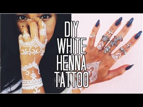 easy tattoo cream ingredients easy diy white henna only 3 ingredients