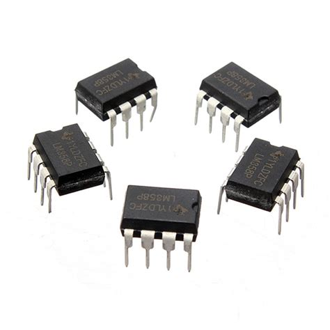 lm358 operational lifier integrated circuit 1pcs lm358p lm358n lm358 dip 8 operational lifiers ic 8 pin integrated circuits low input