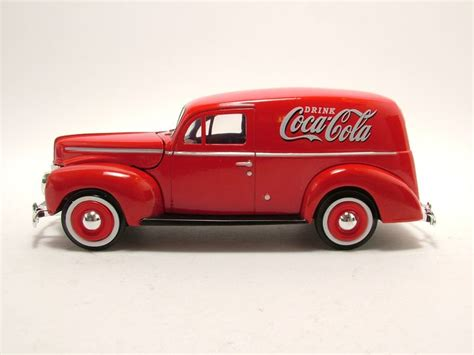 ford motor city ford sedan delivery 1940 coca cola modellauto 1 24