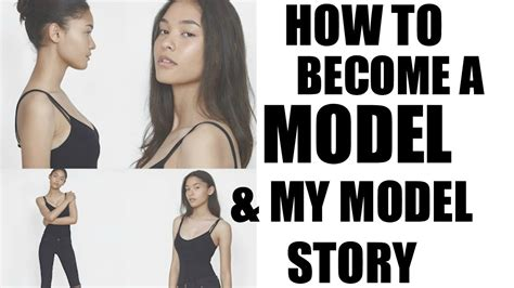 how to become a model model agency guide model advice how to become a model my modelling story youtube
