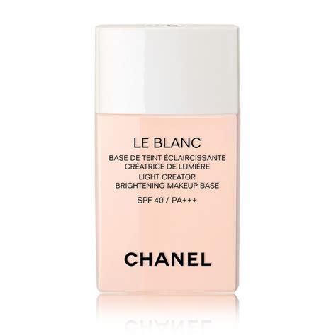 Harga Chanel Blanc Essentiel Serum le blanc light creator brightening makeup base spf 40 pa