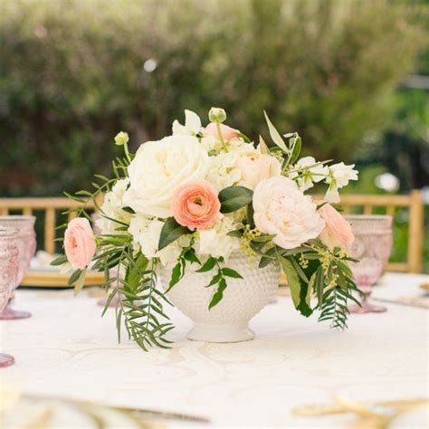 bridal shower table decorations flowers a gorgeous outdoor bubbly and brunch bridal shower in