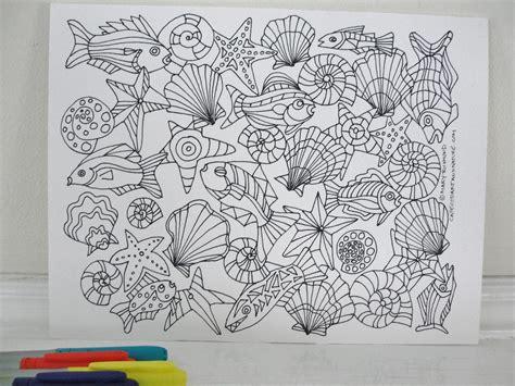 seashore   sea coloring page downloadable