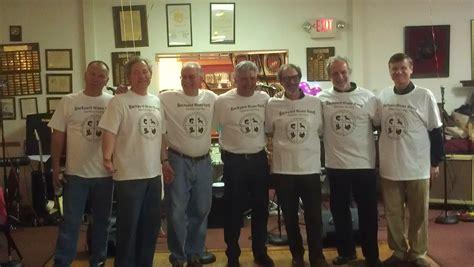 backyard blues band custom t shirts for backyard blues band enjoying their
