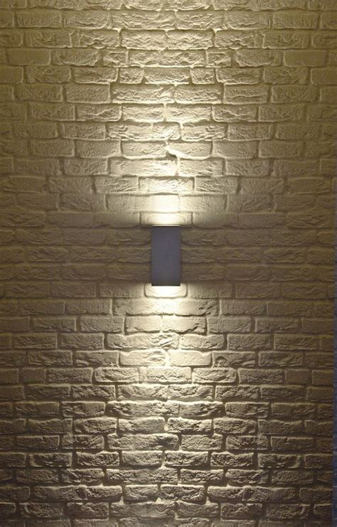 Big Theo Up Down Exterior Wall Sconce By Slv Lighting Outdoor Brick Wall Lights