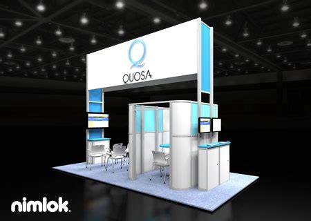 design booth com nimlok specializes in trade show ideas and technology