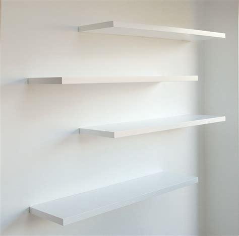 gallery  white floating shelves bespoke nature