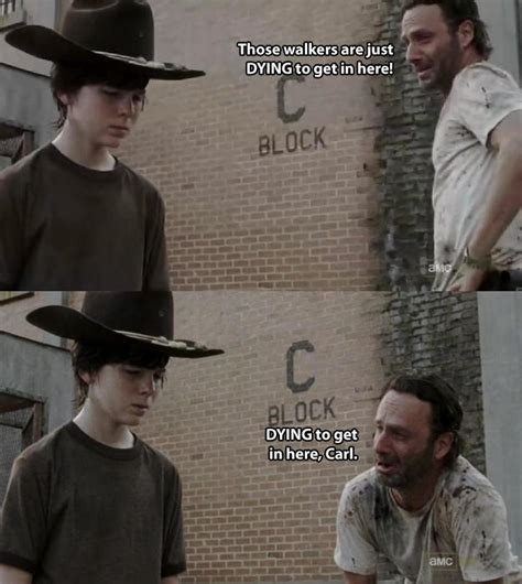 Carl Walking Dead Meme - carl know your meme