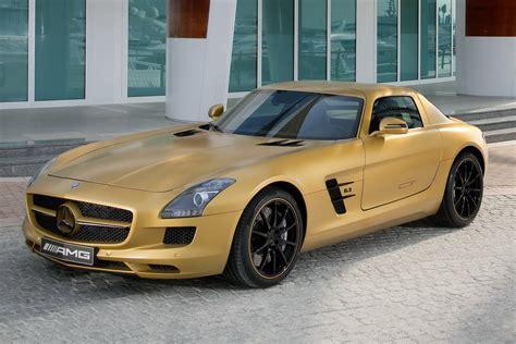 2010 mercedes sls amg desert gold